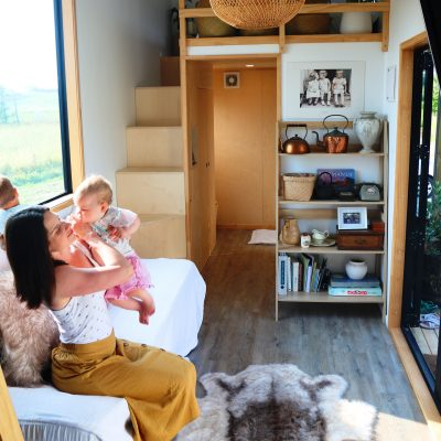 Inside a Fox Cabins Tiny Home