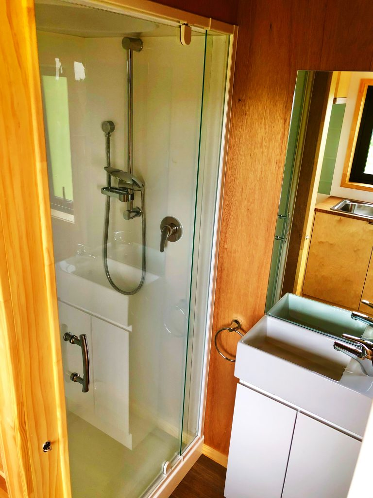 Tiny Home Bathroom, Ply Bathroom