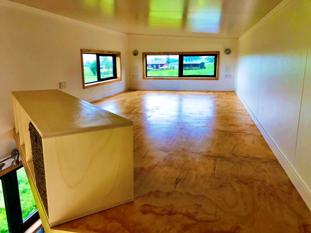 Tiny Home Mezzanine Bedroom
