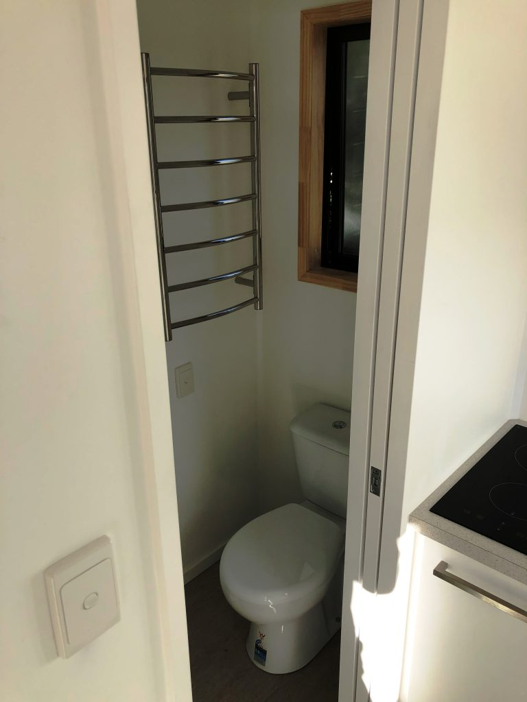 Tiny Home on Wheels Bathroom