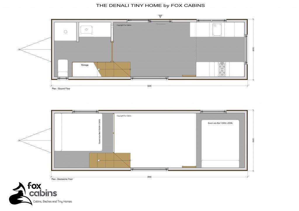 Denali Tiny Home Plan
