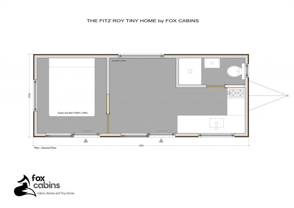 Fitz Roy Tiny Home Plan